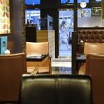 オスロ コーヒー - 店内の様子