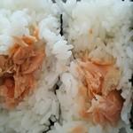 おむすびと豚汁の店 なんぶ屋 - 焼き鮭がうれしい