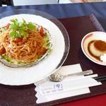 バルレストラン シズク - 料理写真:冷製トマト麺