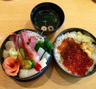 おたる政寿司 ぜん庵 - 海鮮二段重