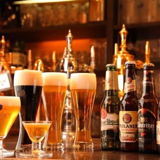 生ビール15種類!!クラフトビールもある!!