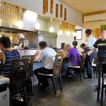 麺の風 祥気 - カウンター席(2016年8月)