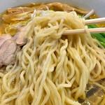 麺の風 祥気 - しおそば + 味玉(2016年8月)