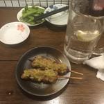 もつ焼き松ちゃん - 二回戦はネギ塩タン