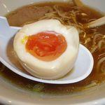 中華そば まるたけ - 味玉