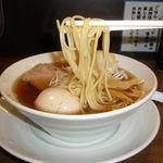 中華そば まるたけ - 麺