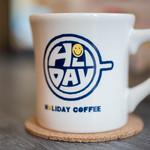 ホリデー コーヒー - ドリンク写真:咖啡碗(こおふィわん)