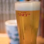 蕎麦 あざみ - 啤酒(びいる)