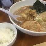 ラーメン香月 - 醤油らーめん+ライス