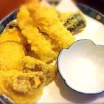 玉がき - 天ぷらの盛り合わせ