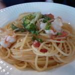asile - 海老と帆立フレッシュトマトのパスタ