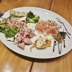 オンザカナル - 前菜7種