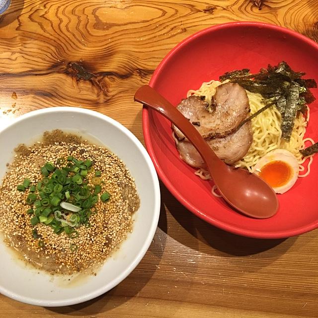 ラー麺 ずんどう屋 新宿店 - 夏季限定 冷し豚骨つけ麺 790円