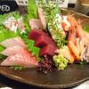 魚の納屋 - 料理写真:2016/8 刺身盛合せ \750