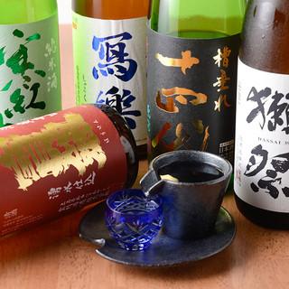 ④【当店は厳選】個性豊かな純米酒を揃えております♫