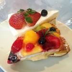 マカロニ市場 - ショートケーキ&夏のミルフィーユ