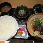 55234615 - 鰹タタキ定食とどろめ