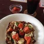 どんぐり - 料理写真:ピザカレートーストセット