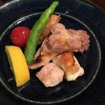 酒と蕎麦 こなから - 地鶏の焼き物