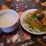 ピアーズ - スープとサラダ