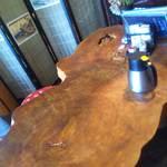 55236476 - 1枚板のテーブル
