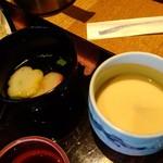 Hirasei - お吸い物、茶わん蒸しも付いてますよ