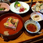 Hirasei - 珍しい岩国寿司の御膳