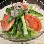 木馬亭 - 高原野菜サラダ