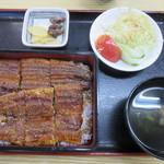 かいだ屋 - うな重(2,600円)