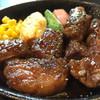 焼肉屋 公 - 料理写真:サイコロステーキセット1480円