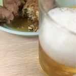 京屋本店 - おでんとビール