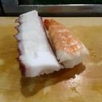 美寿司 - たこ&えび