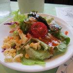 クック De アムール - ランチセットのサラダ