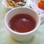 クック De アムール - ランチセットのスープ