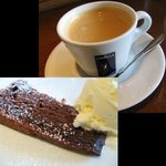 ディチョット - Bランチ:デザート(ガトーショコラ&アイス?)、コーヒー