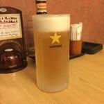 わか松 - 生ビール