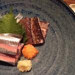 からふぇDINING - 秋刀魚のお造り
