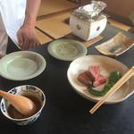 日本料理 山崎 - 飛騨牛まつたけ