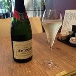 55252590 - グラススパークリングワイン