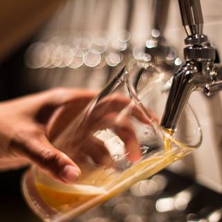 20種類以上ある生樽クラフトビールタップ