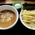 麺処 くろ川 - 濃厚豚骨魚介つけ麺(小盛り)!