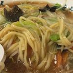 古久家 - サンマーメンの麺