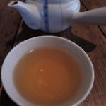 矢的庵 - そば茶で体があたたまるぅ~
