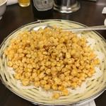 故郷味 - 卵入り揚げトウモロコシ(980円)