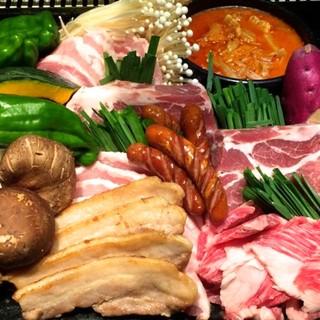 絶品焼肉や韓国料理が心ゆくまで楽しめる、食べ放題がお得です♪
