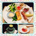 ホシアイ - 今宵も美味しいお料理に幸せを感じます。地元源太の野菜〜秋の味覚の松茸土瓶蒸し〜イチジクのコンポートまでたっぷり味わいました。
