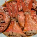 魚菜 由良 - 金目鯛の煮付け【2016年3月】