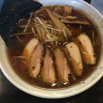 麺処 輝 - 160821チャーシュー麺 ¥850