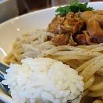 麺屋 武吉 - マッサマンカレーつけ麺