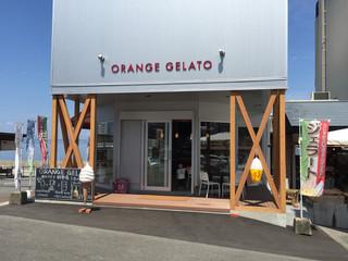 オレンジジェラート - お店です